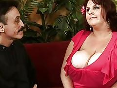Hot meeting with very sexy chubby slut