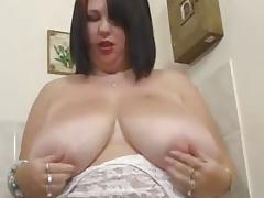 Meow kitchen solo masturbation
