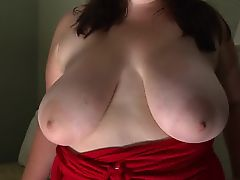 Jazzmin BIG areola undressed