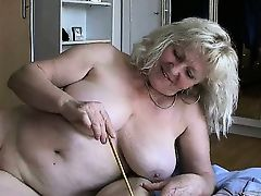 Nasty mature fat women go crazy sharing part3