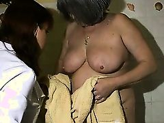 Nasty old woman gets horny part4