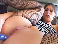 Sexy bbw anal toying