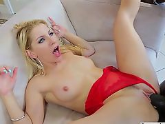 Ashley Fires fucks big fat black cock