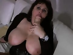 Nice looking milf with big boobs satisfaction